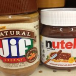 Nutella and Jif