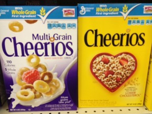 Cheerios Side By Side