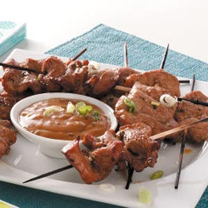pork tenderloin satay