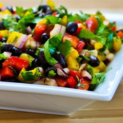 black bean salsa no corn